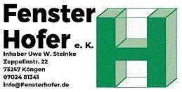 Bild zu Fenster Hofer e. K. - Inhaber Uwe W. Steinke in Köngen