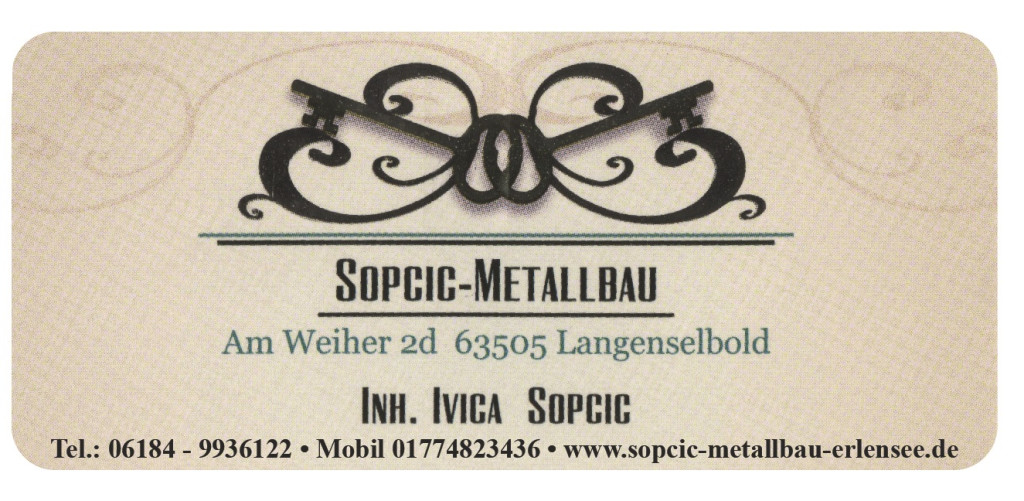 Bild zu Ivica Sopcic Schlosserei & Metallbau in Langenselbold