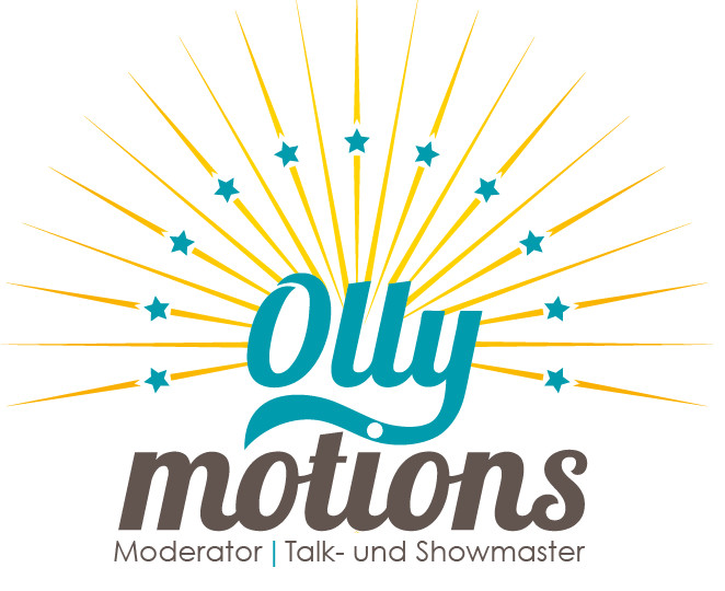 Logo von Ollymotions - Oliver W. Schulte - Moderator, Talkmaster, Showmaster, Entertainer
