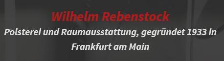 Bild zu Wilhelm Rebenstock Atelier für Inneneinrichtungen e.K. in Frankfurt am Main