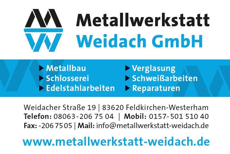 Bild zu Metallwerkstatt Weidach GmbH in Feldkirchen Westerham