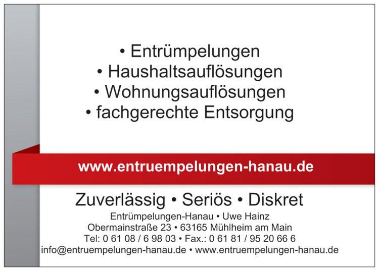 Bild zu Entrümpelung Hanau in Mühlheim am Main
