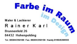 Bild zu Malerei Karl in Hohenpolding