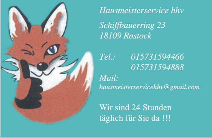 Bild zu Handwerk & Hausmeisterservice HHV in Rostock