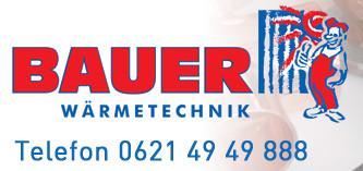 Bild zu Bauer Wärmetechnik GmbH in Ilvesheim