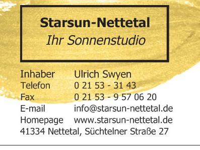 Bild zu Sonnenstudio Starsun-Nettetal in Nettetal