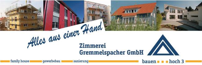 Bild zu Zimmerei Gremmelspacher GmbH in Sankt Peter im Schwarzwald