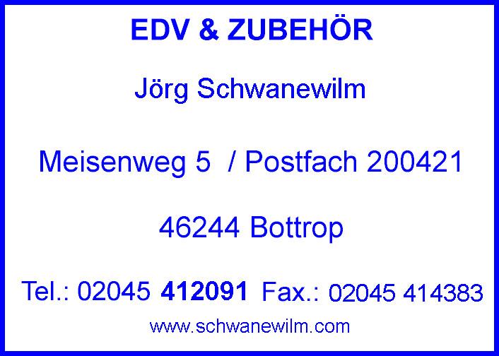 Bild zu Jörg Martin Schwanewilm EDV & Zubehör in Bottrop