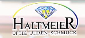 Logo von Haltmeier Optik-Uhren-Schmuck GmbH