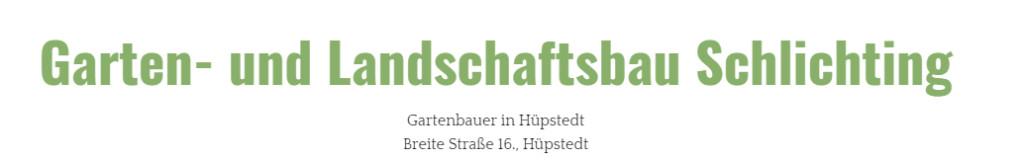 Bild zu Schlichting Garten- und Landschaftsbau in Dünwald
