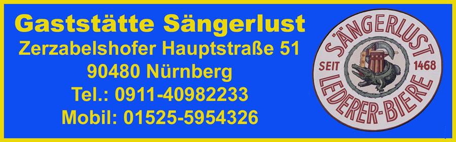 Bild zu Gaststätte Sängerlust in Nürnberg
