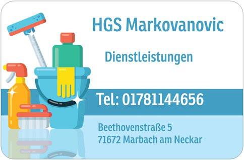 Bild zu HGS Markovanovic- Hausmeister- & Gebäudeservice in Marbach am Neckar