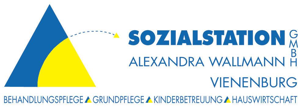 Logo von Sozialstation Alexandra Wallmann GmbH