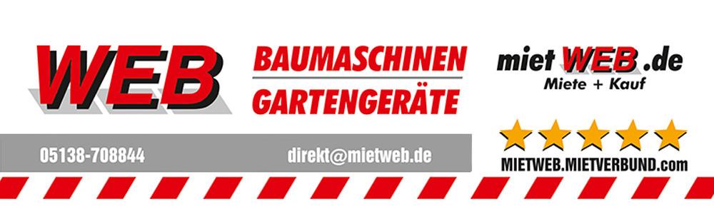 Logo von WEB Maschinen- und Gerätehandel GmbH Baumaschinenvermietung