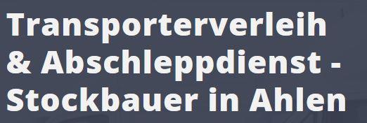 Bild zu Abschleppdienst & Transporterverleih Stockbauer in Ahlen in Westfalen
