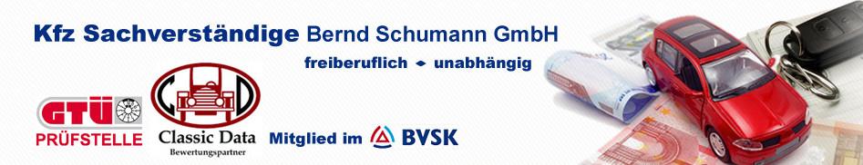 Logo von KFZ Sachverständige Bernd Schumann GmbH