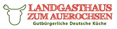 Bild zu Landgasthaus zum Auerochsen in Luckau in Brandenburg