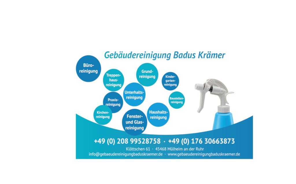Bild zu Gebäudereinigung Badus Krämer in Mülheim an der Ruhr