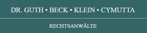 Bild zu Dr. Guth Beck Klein Cymutta Rechtsanwälte Part mbB in Bad Dürkheim