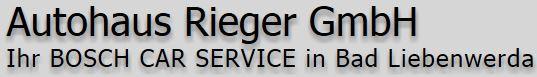 Logo von Autohaus Rieger GmbH
