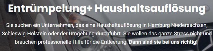 Bild zu ND-Entrümpelung+ Haushaltsauflösung in Hamburg
