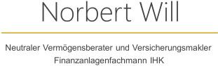 Bild zu Norbert Will Versicherungs- und Finanzmakler in Nürnberg