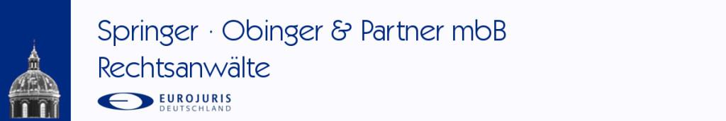 Bild zu Rechtsanwälte Springer, Obinger & Partner mBb in Weingarten in Württemberg