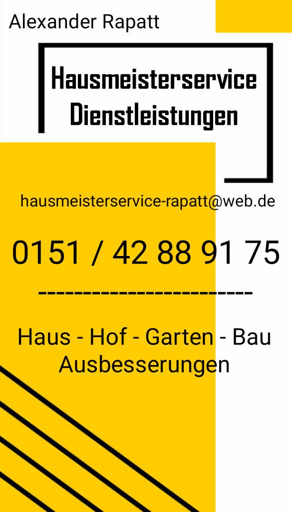 Bild zu Hausmeisterservice Rapatt in Sedlitz Stadt Senftenberg