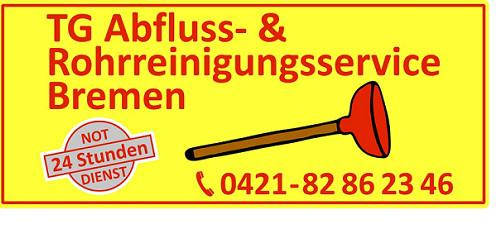 Logo von TG Abfluss- und Rohrreinigungsservice Bremen UG