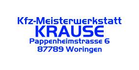 Logo von KFZ Meisterwerkstatt Krause