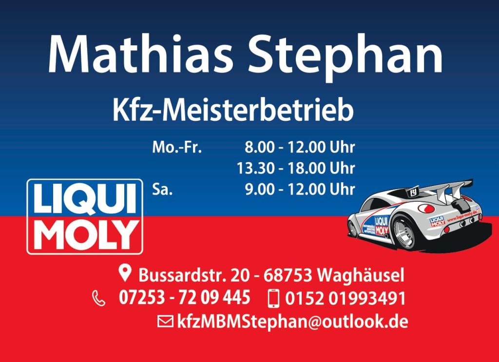 Bild zu Kfz Meisterbetrieb Mathias Stephan in Waghäusel