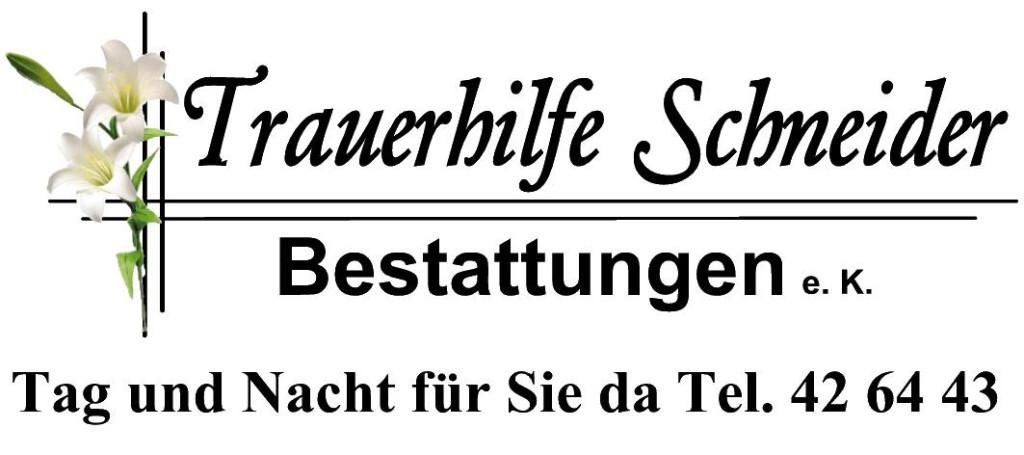 Bild zu Beerdigungen Trauerhilfe Schneider Bestattungen e.K. in Jena