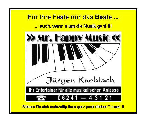 Bild zu Mr. Happy Music in Worms