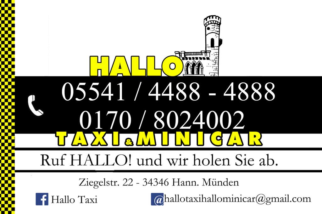 Logo von Hallo Taxi Hallo Minicar