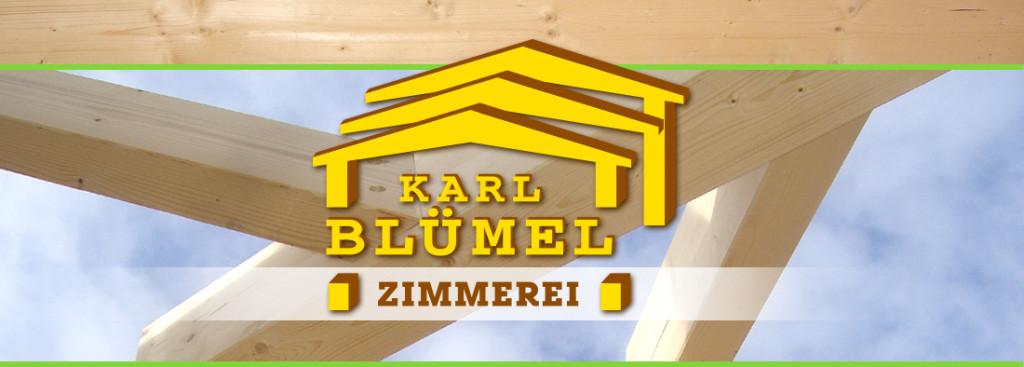 Bild zu Karl Blümel Zimmerei - Holzbau GmbH in Falkenfels