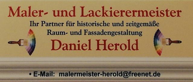 Bild zu Maler- und Lackierermeister Daniel Herold in Steinigtwolmsdorf