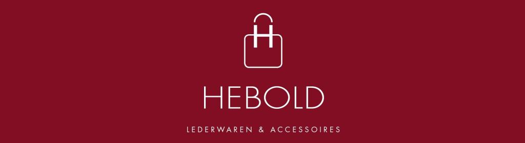 Logo von Hebold Lederwaren & Accessoires