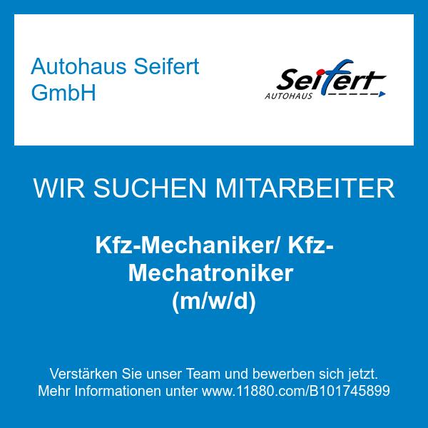 Kfz-Mechaniker/ Kfz-Mechatroniker (m/w/d)