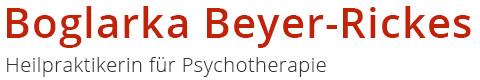 Bild zu Boglarka Beyer-Rickes Heilpraktikerin für Psychotherapie in Siegen