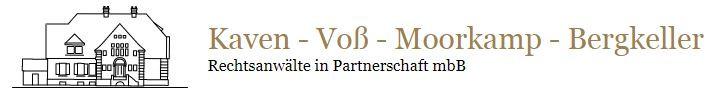 Bild zu Kaven-Voß-Moorkamp-Bergkeller Rechtsanwälte in Partnerschaft mbB in Münster