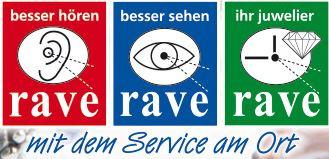 Logo von Rave Optik, Hörgeräte, Uhren, Schmuck