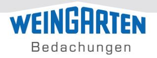 Bild zu Weingarten Bedachungen GmbH Dachdeckerei in Lohmar