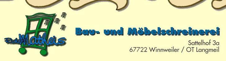 Bild zu Richard Matheis Bau- und Möbelschreinerei in Winnweiler