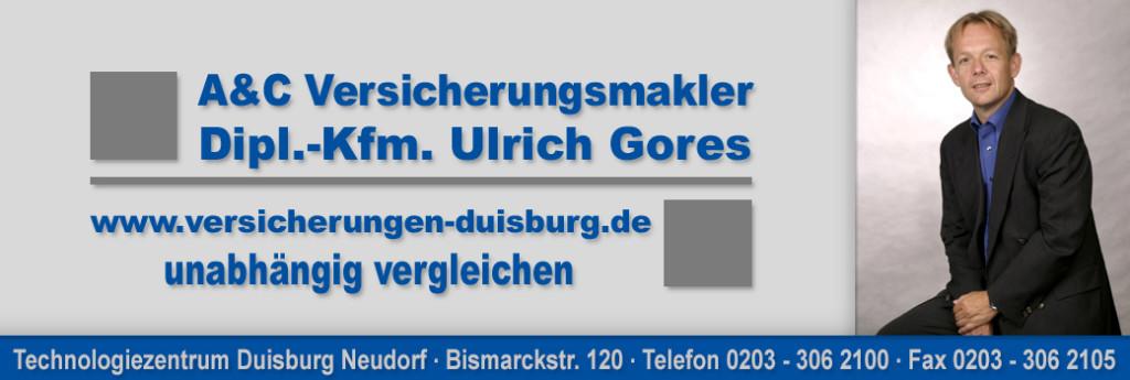 Bild zu A&C Versicherungsmakler Dipl.-Kfm. Ulrich Gores in Duisburg