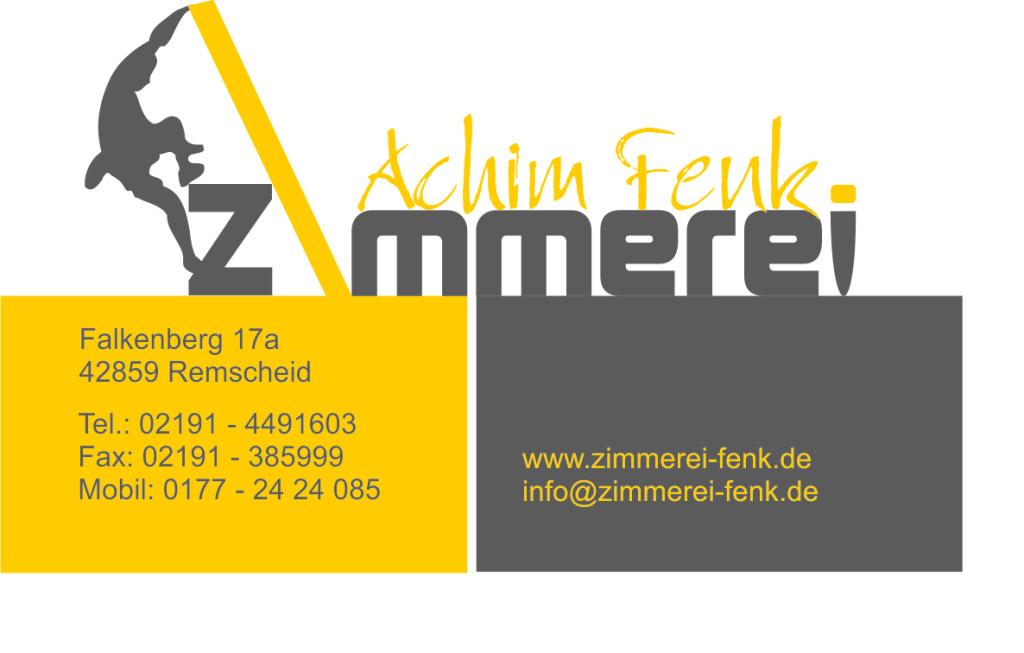 Bild zu Zimmerei Achim Fenk e.K. in Remscheid