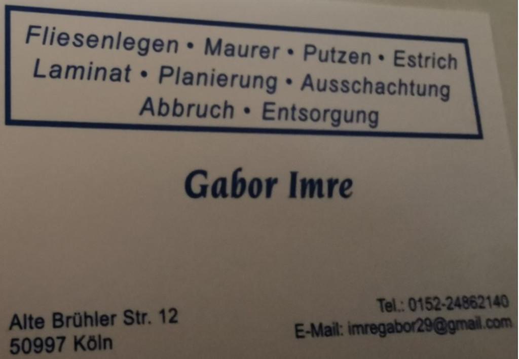 Bild zu Gabor Imre in Köln