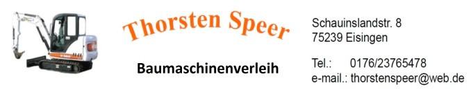 Bild zu Speer-Baumaschinenverleih in Eisingen in Baden