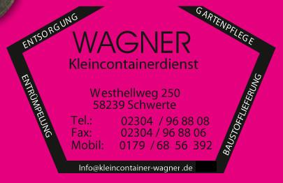 Logo von Containerdienst Wagner