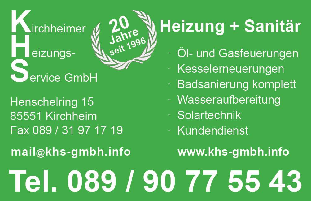 Bild zu Kirchheimer Heizungsservice GmbH in Kirchheim bei München