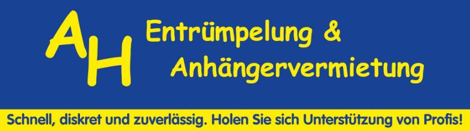 Bild zu AH Entrümpelung & Anhängervermietung in Weilheim in Oberbayern